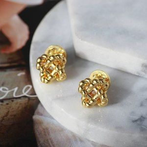 🎁NWT Tory Burch Clover Stud Earrings